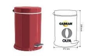 accessoires sanitaires OLFA / poubelle gamme CLASSIC OLFA par CABSAN FRANCE