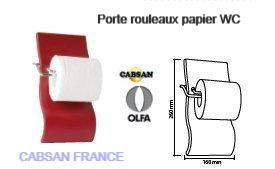 Accessoires pour wc-porte rouleau CABSAN