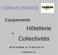 Equipements pour collectivites CABSAN FRANCE