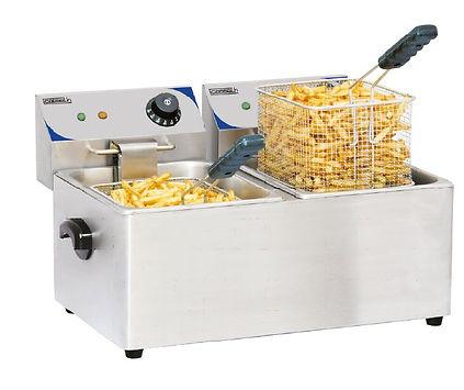 accessoire collectivités CABSAN FRANCE-friteuse 10 litres x2