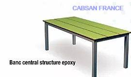 Banc stratifié compact/accessoires sanitaires CABSAN
