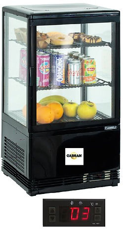 EQUIPEMENTS ACCESSOIRES CABSAN FRANCE-vitrine froide
