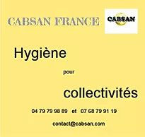 hygiene collectivites/CABSAN FRANCE