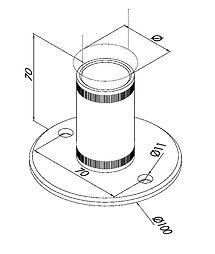 accessoires pour cabines sanitaires stratifié compact HPL-CABSAN - beschläge für sanitärkabinen - Toilets cubicles hardware
