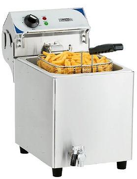 équipement collectivités CABSAN FRANCE-friteuse 7 l avec vidange