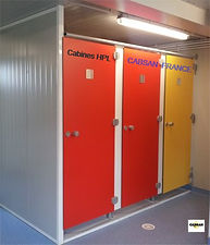 cabines HPL-cabines sanitaires CABSAN