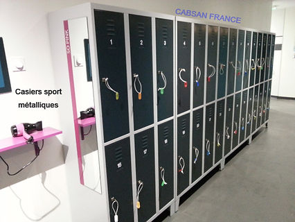 casiers sport CABSAN FRANCE
