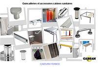 accessoires cabines sanitaires