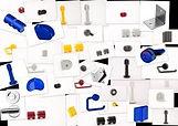 accessories for sanitary cabins HPL CABSAN - Quincailleries et accessoires pour cabines compact phénoliques - zubehör für sanitärkabinen HPL CABSAN