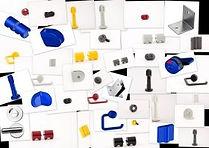 Aluminium hardware for sanitry cabins - Quincailleries et accessoires pour cabines sanitaires HPL-CABSAN - beschläge für sanitärkabinen