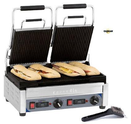 équipements collectivités-grill panini double