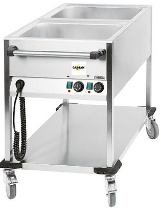 ACCESSOIRES COLLECTIVITES CABSAN FRANCE-chariot bain marie