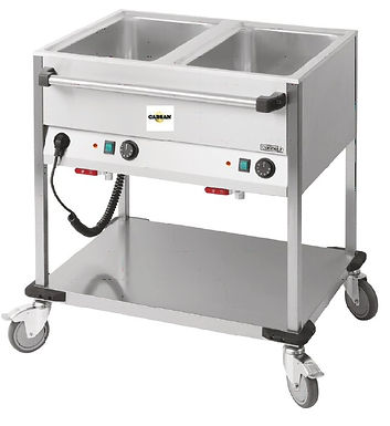 CABSAN  EQUIPEMENTS COLLECTIVITES-chariot bain marie