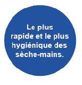 sèche mains Dyson-Accessoires collectivités CABSAN FRANCE