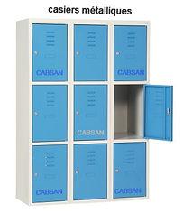 casiers métalliques CABSAN FRANCE/accessoires collectivités