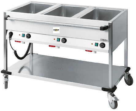 CABSAN  ACCESSOIRES COLLECTIVITES-chariot bain marie