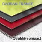 panneaux stratifié compact HPL CABSAN FRANCE