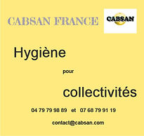 hygiene collectivites par CABSAN FRANCE