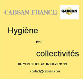 hygiène pour collectivités/CABSAN FRANCE
