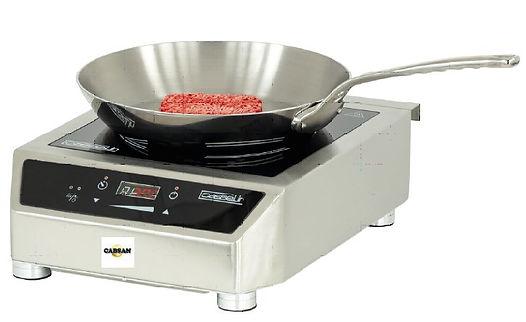 équipements pour cuisines de collectivités CABSAN FRANCE-plaque à induction