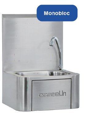 Equipements hôtelier,  Equipements Collectivités lave-mains  CASSELIN