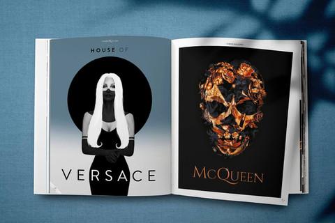 versace, mc queen