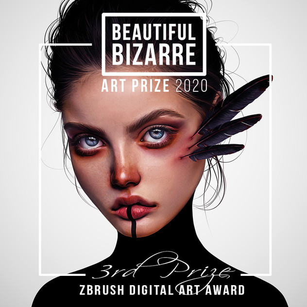 Beautiful Bizarre Art Prize 2020 Laura H. Rubin