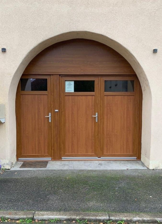 Porte entrée PMH