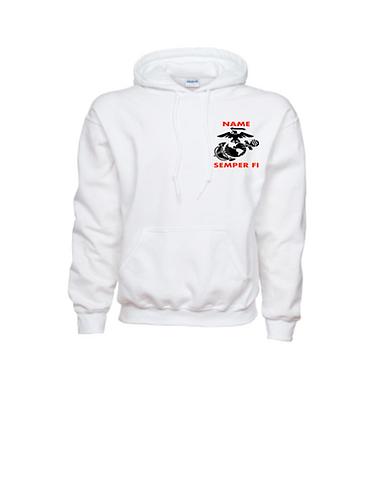USMC Skull - Hoodie