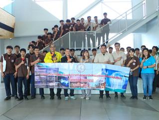 ยินดีต้อนรับคณะนักศึกษาวิทยาลัยเทคโนโลยีช่างกลพณิชยการนครราชสีมาเยี่ยมชมโรงงาน