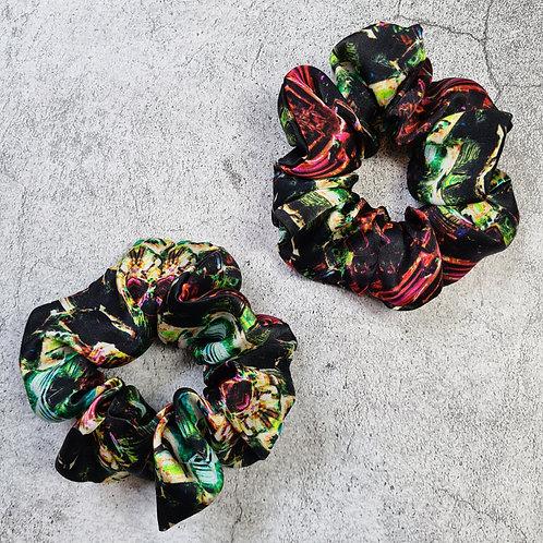 BISMUTH - Oversized 100% Silk Scrunchie