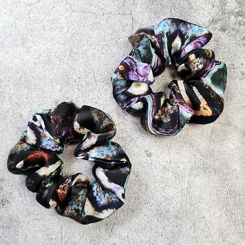 AGATE - Oversized 100% Silk Scrunchie