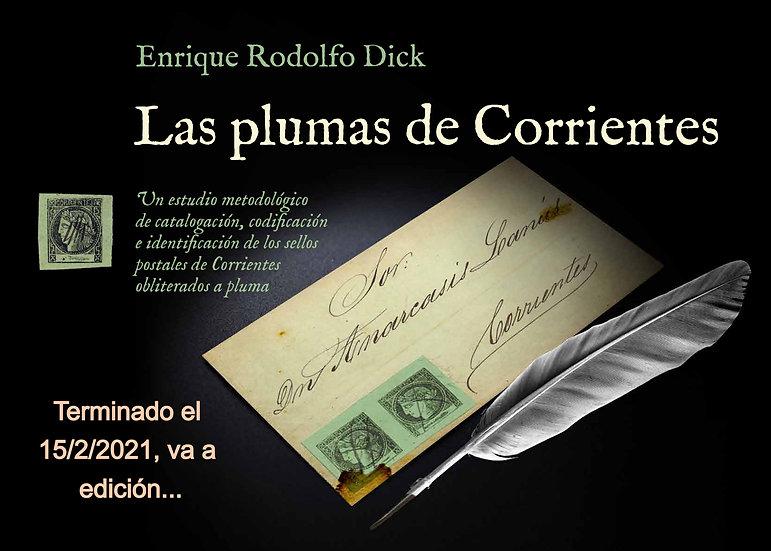 Los sellos de Corrientes obliterados a pluma
