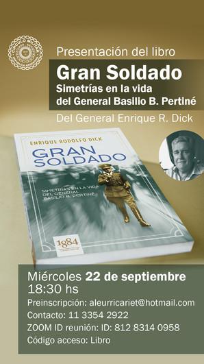 Presentación libro ¡Gran Soldado!