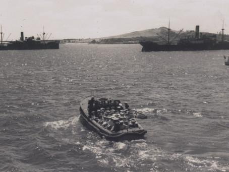 Las lanchas del Graf Spee