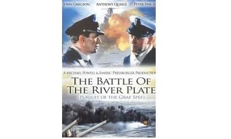 """El rodaje de la película """"La batalla del Río de la Plata"""""""