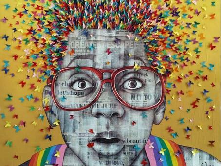 Le Street Art dans un écrin de luxe !  Un mélange SU-BLI-MI-SSIME!