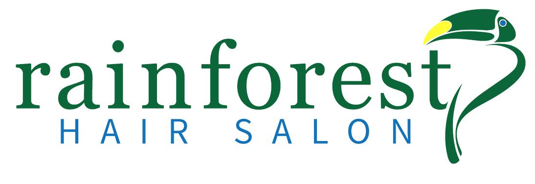 Rain Forest Salon Logo