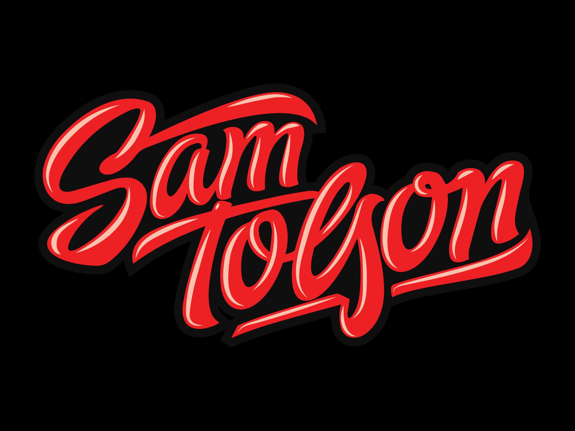 Sam Tolson Cartoon Logo
