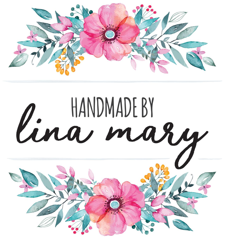 Handmade by Lina Mary Logo