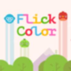 Flick Color iOS Game