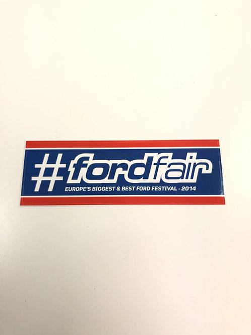 Ford Fair 2014 Official Decal