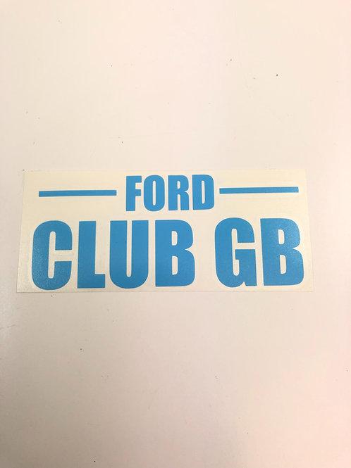 FCGB   blue 13cm sq