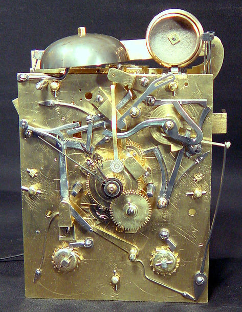 Repair of a Daniel Quare pull quarter repeat spring clock