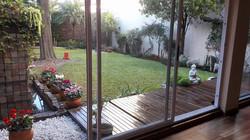 El jardín en invierno