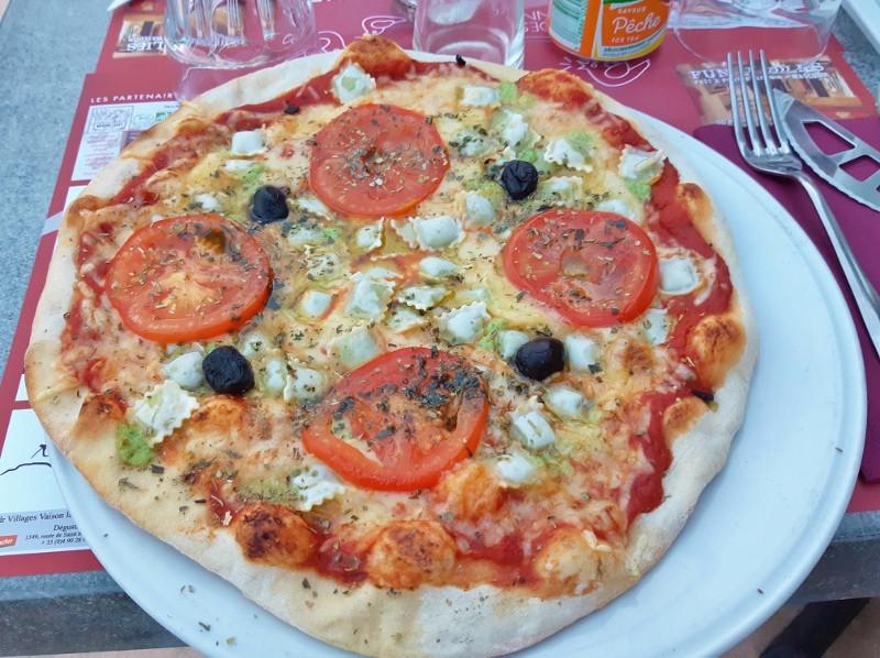 Les pizzas maison