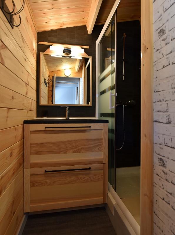 Une salle de douche optimisée