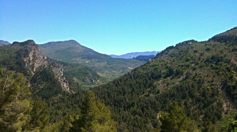 La vallée de l'Ouvèze