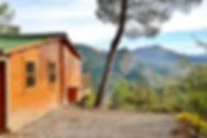 L'Orée de Provence - Camping nature en Drôme provençale - Chalet, pilotis, insolite, haut de gamme