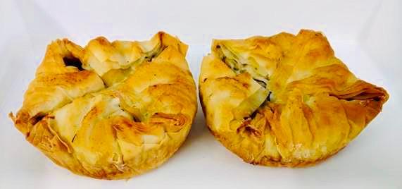 Winter Greens Pie - Kale and Feta, Qanta